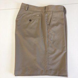 Adidas Climalite Shorts Tan Mens Size 38 EUC